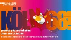 """Ausstellung """"Köln 68"""" / Kölnisches Stadtmuseum"""